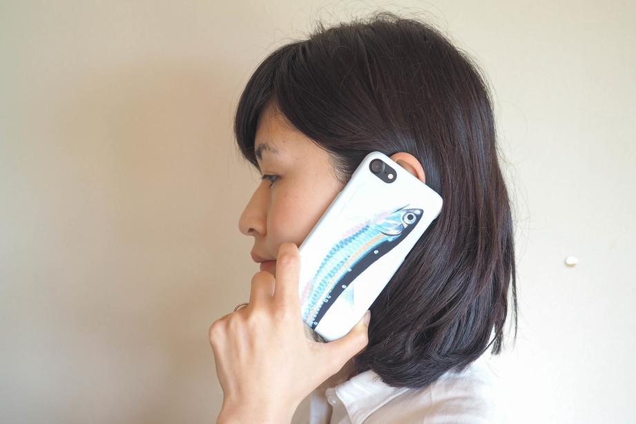 【販売終了】長嶋祐成iPhone7ケース「カタクチイワシ」