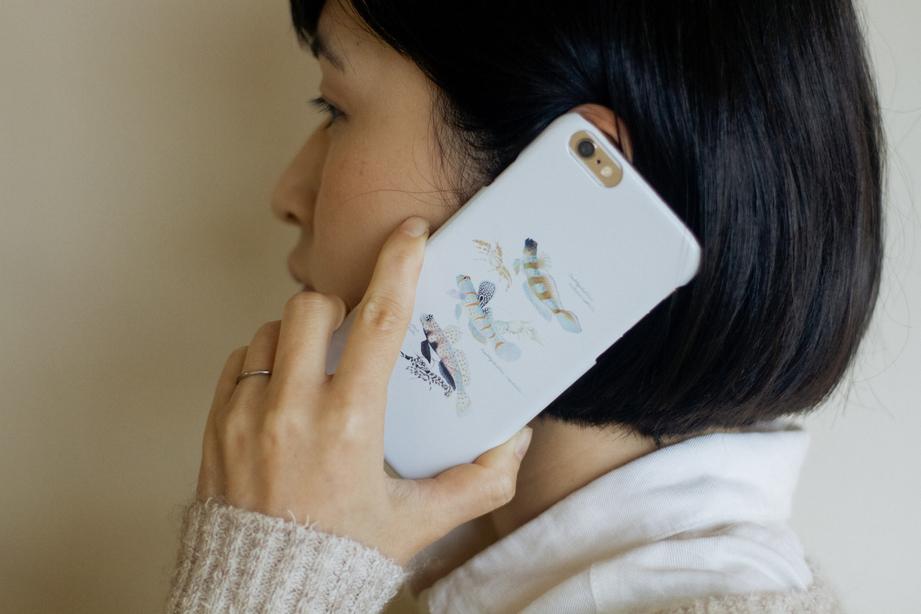 【販売終了】長嶋祐成iPhoneケース「共生ハゼ」