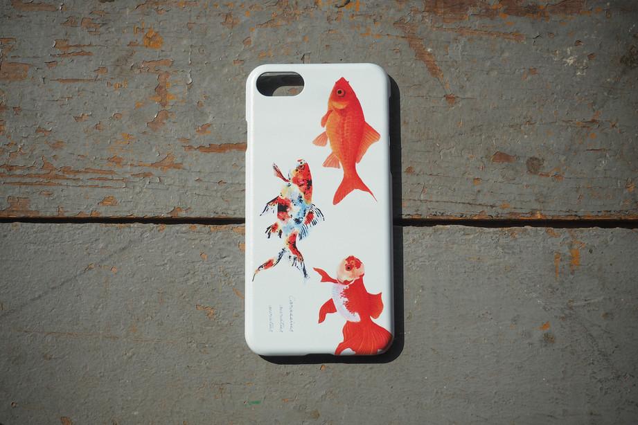 【販売終了】長嶋祐成iPhone7ケース「金魚」